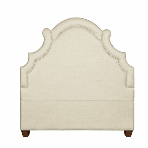 Toulouse Upholstered Headboard and Bed size F-K