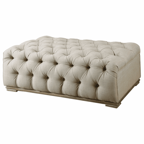 Town and Country Tufted Ottoman