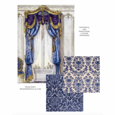 Traditional and Historical Draperies