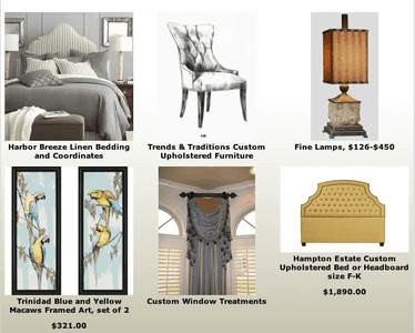 Traditional and Tropical Home Furnishings and Accents