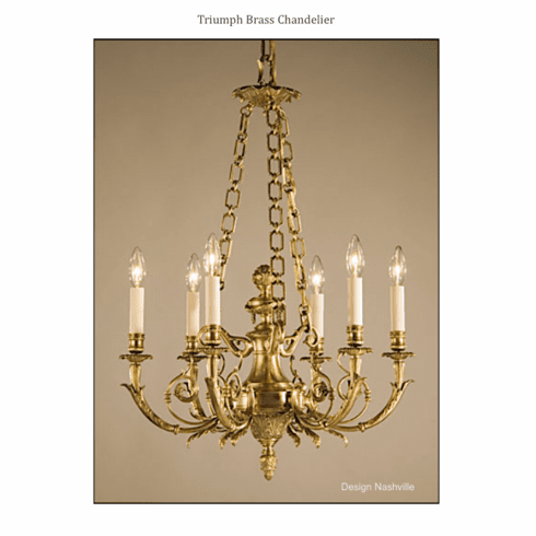 Triumph Solid Brass Chandelier
