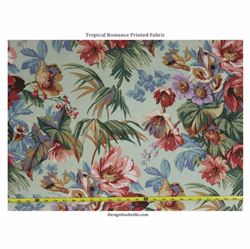 Tropical Romance Printed Fabric