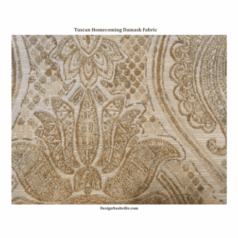 Tuscan Homecoming Tapestry Fabric