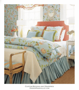 Updated Traditional Floral Bedding