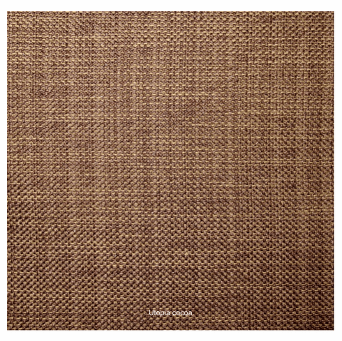 Utopia Fabric, walnut