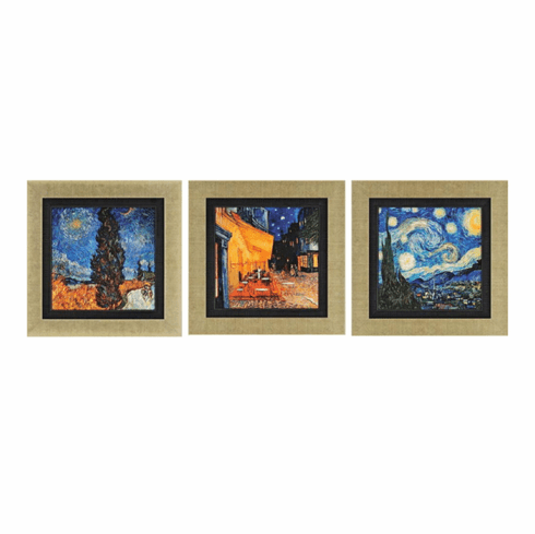 Van Gogh Favorites I, set of 3