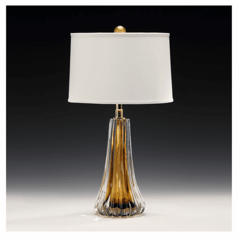 Venetian Cognac Glass Lamp