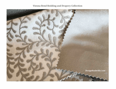 Vienna Bend Custom Bedding and Drapery Collection