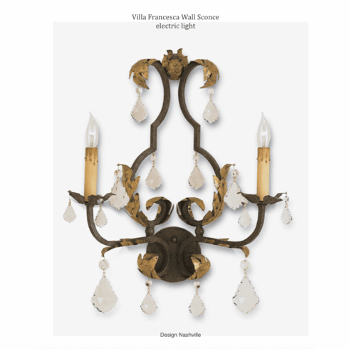 Villa Francesca Electric Light Sconce