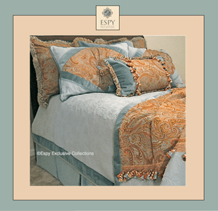 Vivaldi Tuscan  Drapery and Bedding in Collection