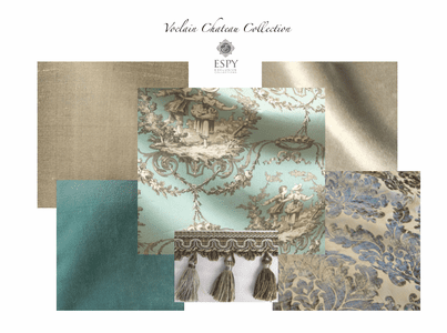 Voclain Chateau Drapery and Bedding Collection