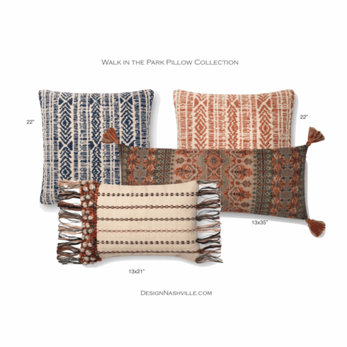Walk in the Park Pillow Collection