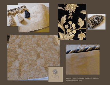 Walnut Grove Plantation Bedding and Drapery Collection