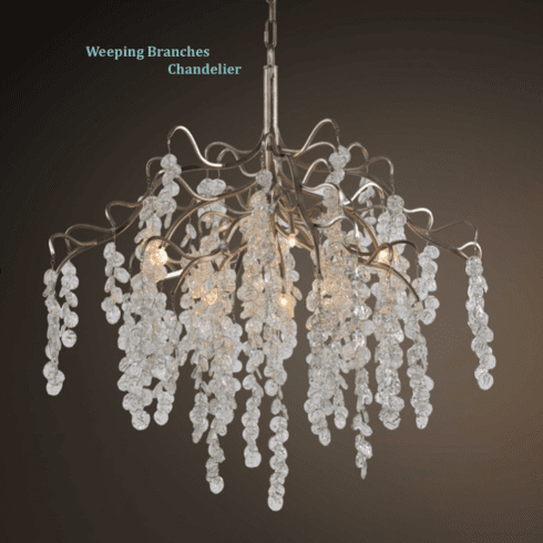 Weeping Branches Chandelier