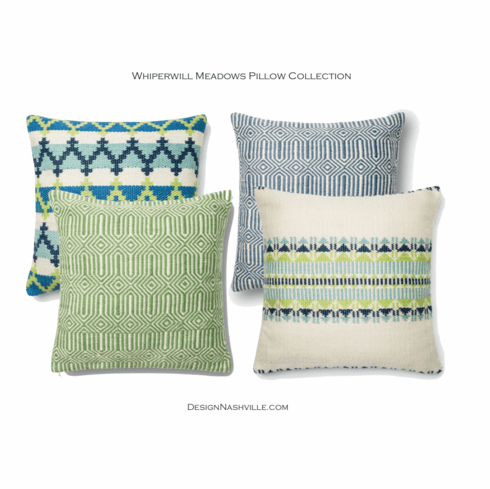 Whippoorwill Meadow Pillow Collection