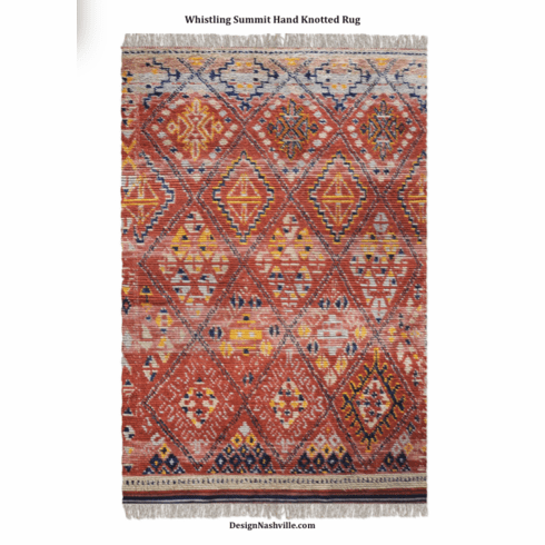 Whistling Summit Hand Knotted Rug