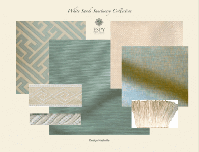 White Sands Sanctuary Drapery and Bedding Collection