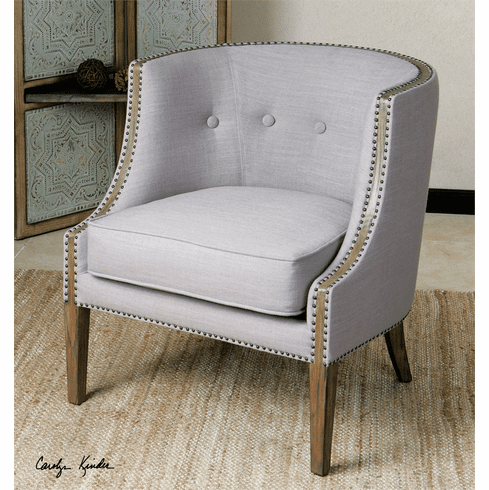 Wyndham Grey Accent Chair