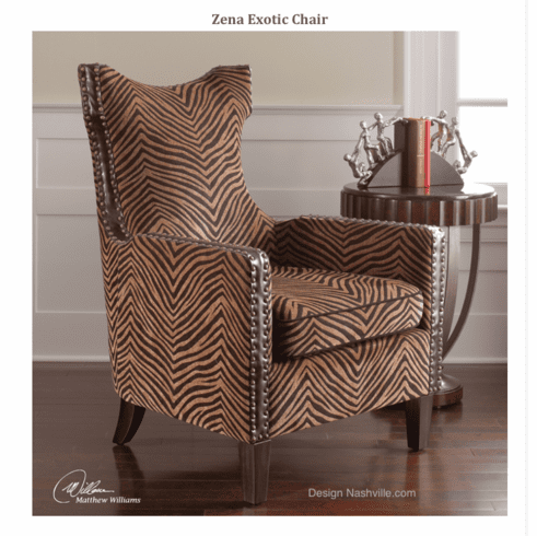 Zena Exotic Chair