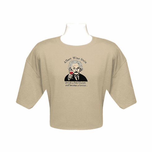"""Albert Wine-Stein"" Mens T-Shirt"