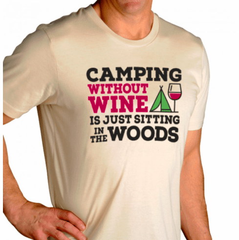 Camping Without Wine Men's T-Shirt