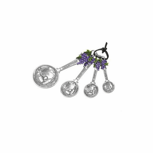 Grape Measuring Spoons Purple