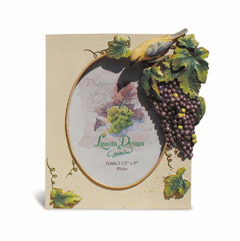 Grapes Medium Picture Frame