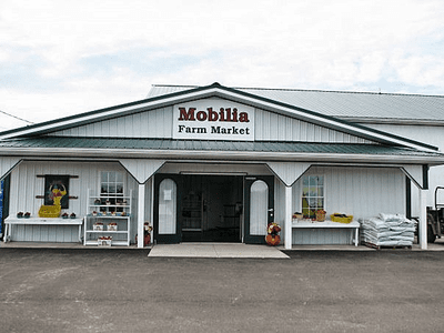 Mobilia fruit farms for Mobilia opening hours