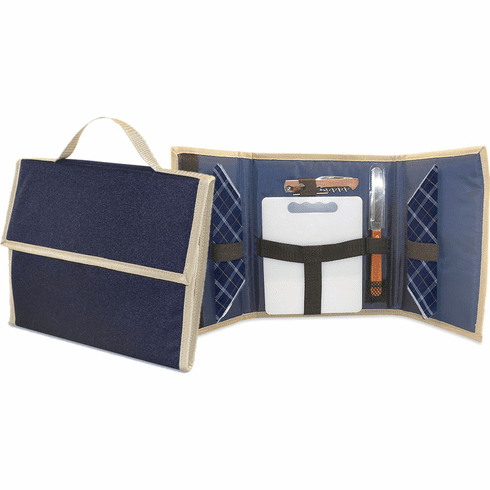 Portable Wine & Cheese Picnic Tote