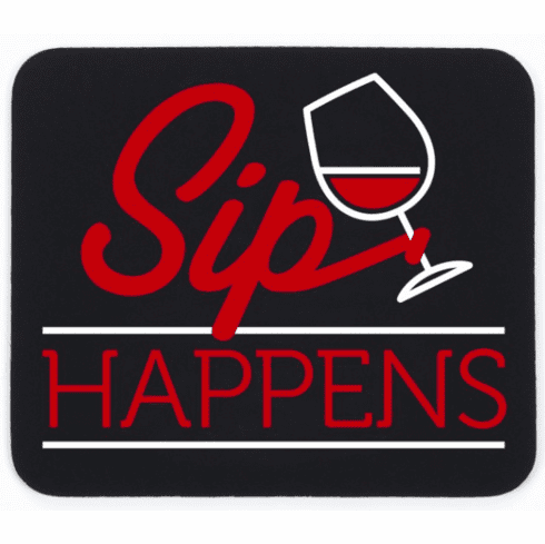 Sip Happen Mouse Pad