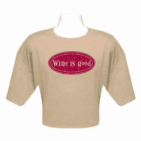 """Wine is Good"" Traditional T-Shirt"