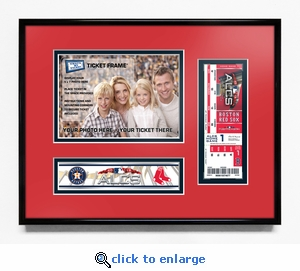 2018 ALCS Your 5x7 Photo Ticket Frame - Boston Red Sox