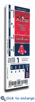 2018 ALDS Canvas Mega Ticket - Boston Red Sox