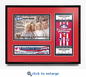 2018 MLB All-Star Game 5x7 Photo Ticket Frame - Washington Nationals