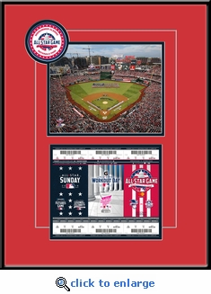 2018 MLB All-Star Game 8x10 Photo Ticket Strip Frame - Washington Nationals