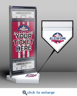 2018 MLB All-Star Game Home Plate Ticket Display Stand - Washington Nationals