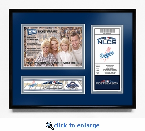 2018 NLCS Your 5x7 Photo Ticket Frame - Los Angeles Dodgers