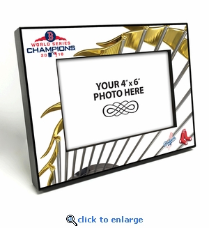 2018 World Series Champions 4x6 Picture Frame - Boston Red Sox