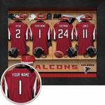 Atlanta Falcons Personalized Locker Room Print
