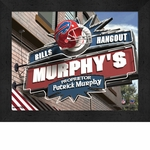 Buffalo Bills Personalized Sports Room / Pub Sign Print
