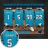 Carolina Panthers Personalized Locker Room Print