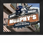 Chicago Bears Personalized Sports Room / Pub Sign Print