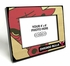 Chicago Bulls Black Wood Edge 4x6 inch Picture Frame