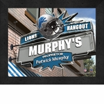 Detroit Lions Personalized Sports Room / Pub Sign Print