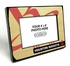 Houston Rockets Black Wood Edge 4x6 inch Picture Frame