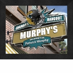 Jacksonville Jaguars Personalized Sports Room / Pub Sign Print