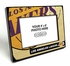 Los Angeles Lakers Black Wood Edge 4x6 inch Picture Frame