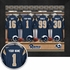 Los Angeles Rams Personalized Locker Room Print