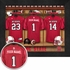 NC State Wolfpack Personalized Football Locker Room Print