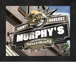 New Orleans Saints Personalized Sports Room / Pub Sign Print